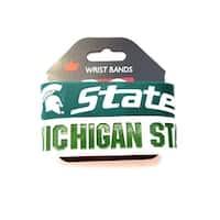 Michigan State Spartans Rubber Wrist Band Set