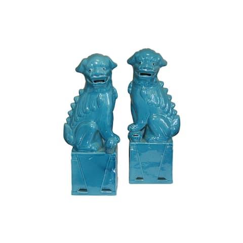 Sitting Foo Dog Figurine