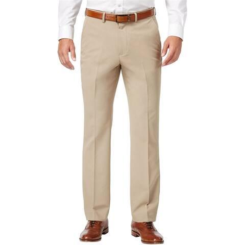 Nautica Mens Twill Dress Pants Slacks