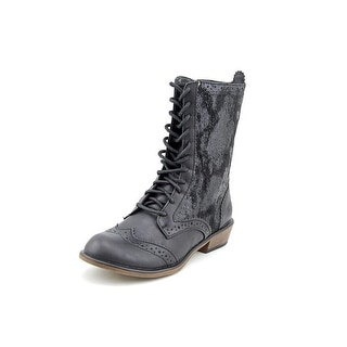 Dirty Laundry Paxton Round Toe Synthetic Mid Calf Boot