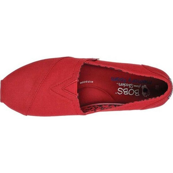 BOBS Plush Peace and Love Dark Red
