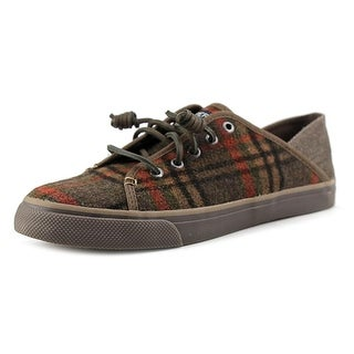 Sperry Top Sider Seacoast Isle Plaid Round Toe Canvas Sneakers