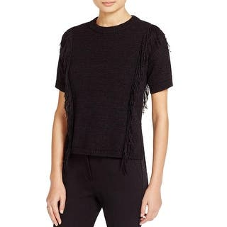 MICHAEL Michael Kors Womens Crewneck Sweater Basket Weave Ribbed Knit Trim|https://ak1.ostkcdn.com/images/products/is/images/direct/700896f21a7335ad94201cab1d53900d961f4c4e/MICHAEL-Michael-Kors-Womens-Crewneck-Sweater-Basket-Weave-Ribbed-Knit-Trim.jpg?impolicy=medium