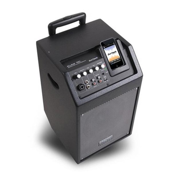 FIRST AUDIO MANUFACTURING ICUBE90 Wireless PA System with IPod Docking