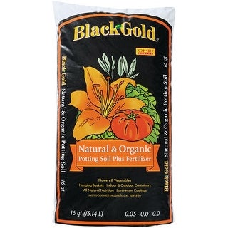 Black Gold 1402040 16. QT P Natural And Organic Potting Soil, 16 Quart