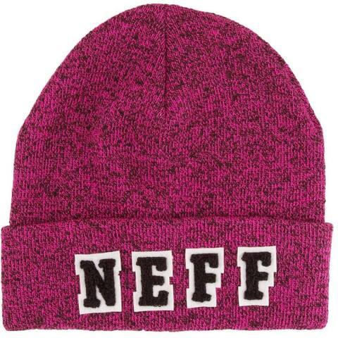 Neff Women's Hollie Beanie Hat, Magenta