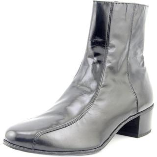 Florsheim Duke Men Round Toe Leather Black Boot