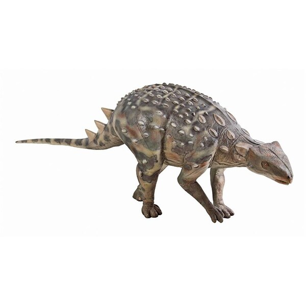 Design Toscano Minmi Ankylosaurs Scaled Dinosaur Statue