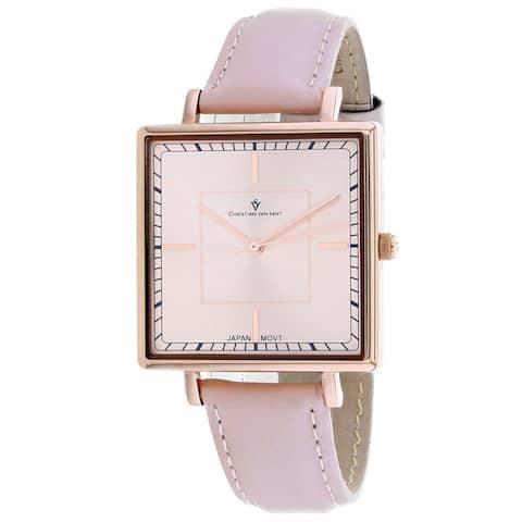 Christian Van Sant Women's Callista Rose gold Dial Watch - CV0417 - One Size