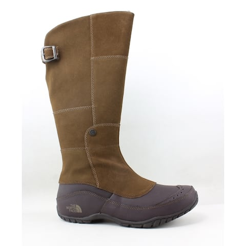 The North Face Womens Anna Purna Brown Snow Boots Size 10