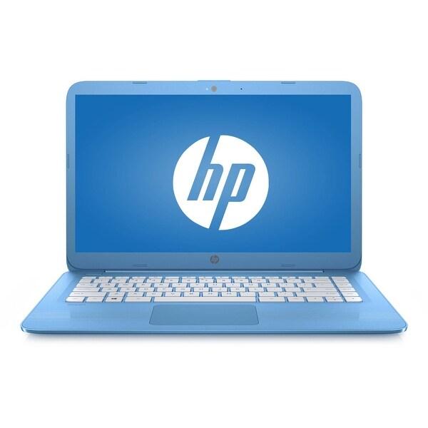 """Refurbished - HP Stream 14-AX010NR 14"""" Laptop Intel Celeron N3060 1.6GHz 4GB 32GB eMMC Win10"""