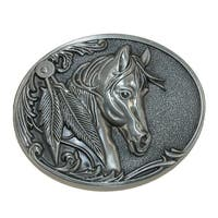 CTM® Women's Horse Belt Buckle