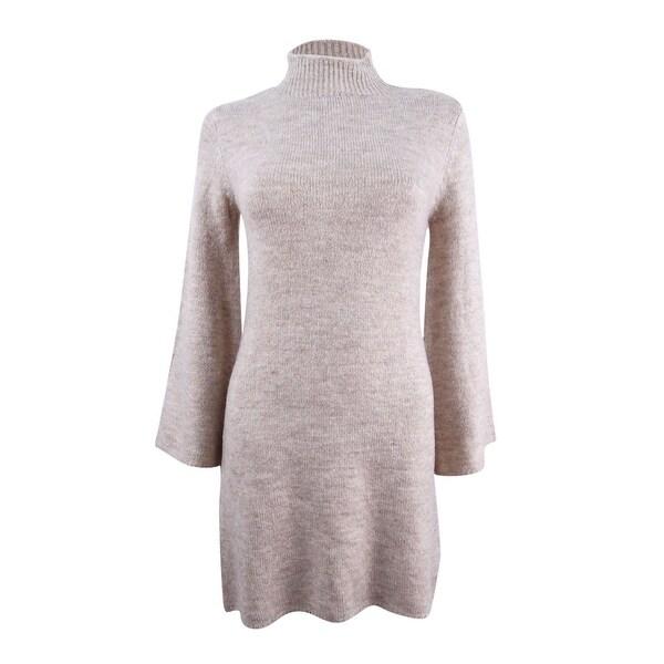 Bardot Women's Tash Bell Sleeve Sweater Dress - Oatmeal