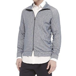 Vince. NEW Gray Mens Size XL Full Zip Lined Knit Sweater Jacket