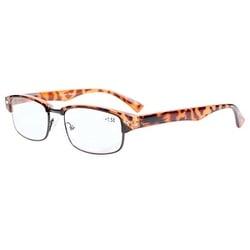 Eyekepper Readers Spring Hinge Classic Reading Glasses Tortoise Shell +2.0