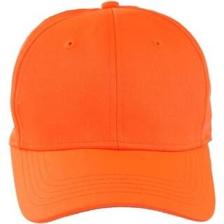 Blaze Orange Hunting Cap