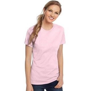 Hanes Women's Nano-T® T-shirt - Color - Pale Pink - Size - 3XL