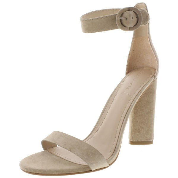 Kendall + Kylie Womens Giselle3 Dress Sandals Suede Ankle Strap - 7 medium (b,m)