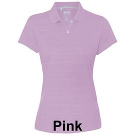 adidas - Golf Women's ClimaLite® Textured Short Sleeve Polo