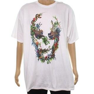 Sean John NEW White Mens Size 3XL Printed Short Sleeve Tee T-Shirt