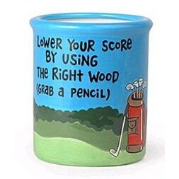 Our Name Is Mud Golf Pencil Holder Cup