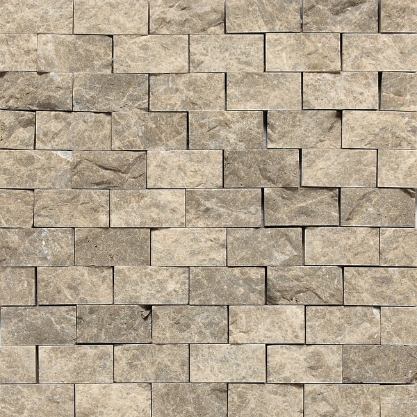 Daltile M12sf Marble 1 X 2 Brick Joint Mosaic Wall Floor Tile Overstock 18408908