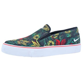 Nike Mens Toki Slip Text Print Slip-On Shoes Slip On Cushioned Insole - 7.5 medium (d)