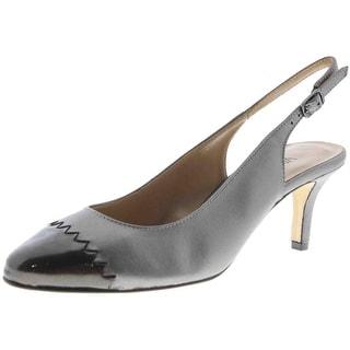 VANELi Womens Liddy Slingback Heels Leather Pumps