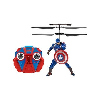World Tech Toys 34871 Marvel Licensed Captain America 2CH IR RC Helicopter