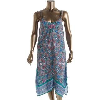 BeBop Womens Juniors Paisley Sleeveless Casual Dress - XL