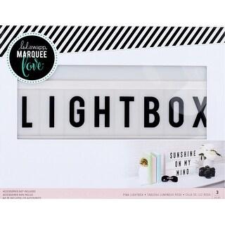 "Heidi Swapp Lightbox 10""X13""X2""-Pink"