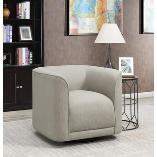 Link to Strick & Bolton Mason Contemporary Swivel Accent Chair Similar Items in Arm Chairs