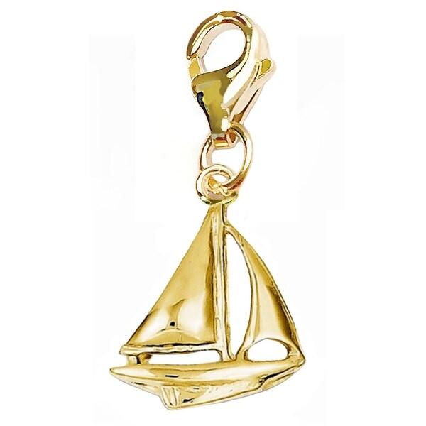 Julieta Jewelry Sailboat Clip-On Charm