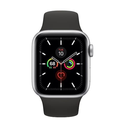 Refurbished Apple Watch 42mm Series 3 GPS Silver & Black Band