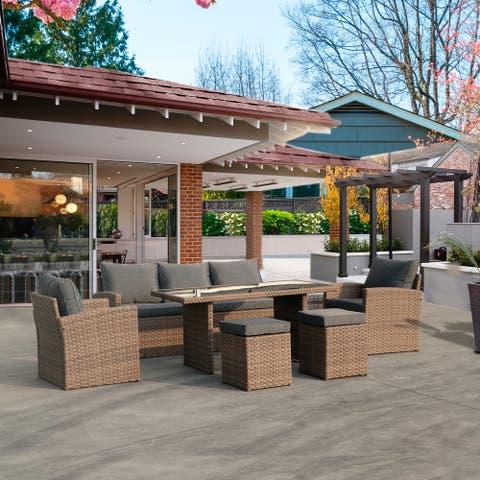 Amarantos Outdoor Dining Table Set Patio Conversation Furniture