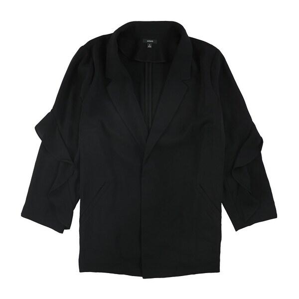 Alfani Womens Flounce Sleeve Jacket. Opens flyout.