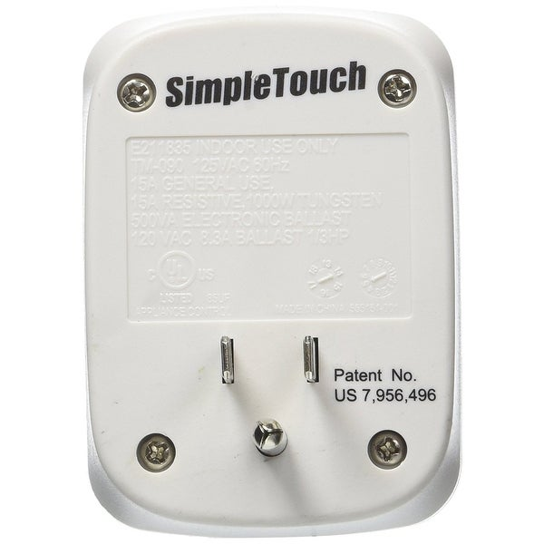 Simple Touch C30004-Single Original Auto Shut-Off Safety Outlet 30 Minute for