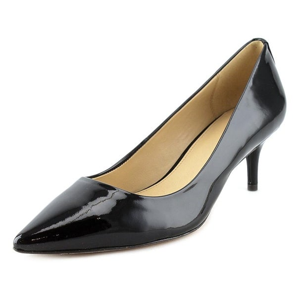 Coach Lacey Women Pointed Toe Patent Leather Black Heels