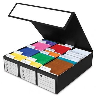 BCW Diversified BCDCGB3RBWT 3 Row Card Game Storage Box