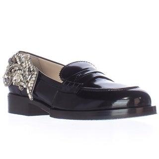 No21 8609 Slip-On Loafers - Black