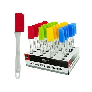 Silicone Kitchen Spatula Counter Top Display - Case of 24