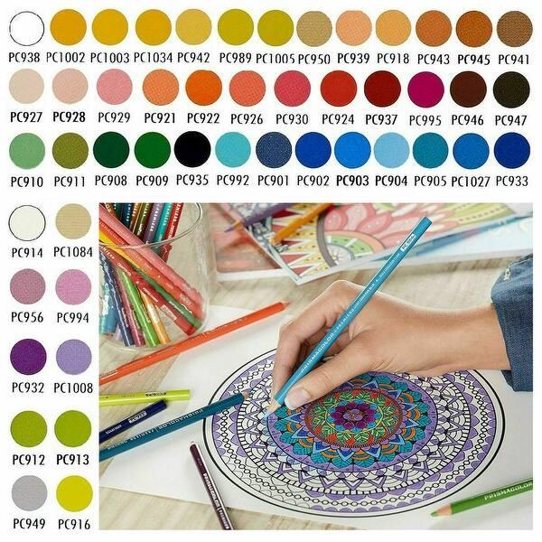 Prismacolor Premier Colored Pencils Soft Core 72-Count Tin Case Sealed Eraser!