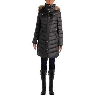 MICHAEL Michael Kors Womens Faux Fur 2-In-1 Parka - M