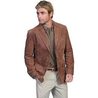 Scully Western Blazer Mens Contemporary Classic Brown