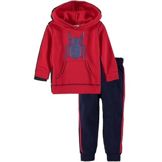 Marvel Boys 2T-4T Spiderman Jog Set - Red