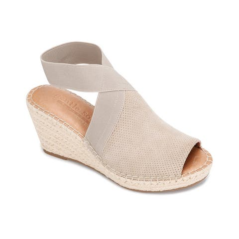Gentle Souls By Kenneth Cole Colleen Suede Wedge