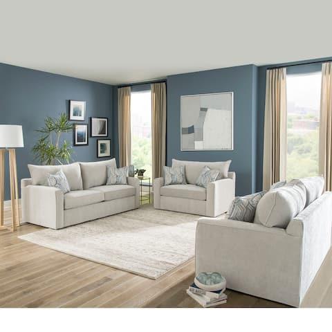 Capri Grey Sofa Bed with Gel Memory Foam Mattress