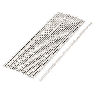 RC Aircraft Car Part Stainless Steel Round Rods 2mm x 110mm 19 Pcs