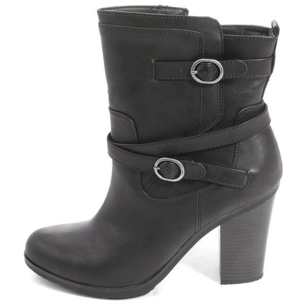 Style & Co. Womens AMELIYA Round Toe Ankle Fashion Boots