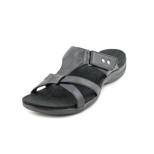 Easy Street Blaze WW Open Toe Synthetic Slides Sandal